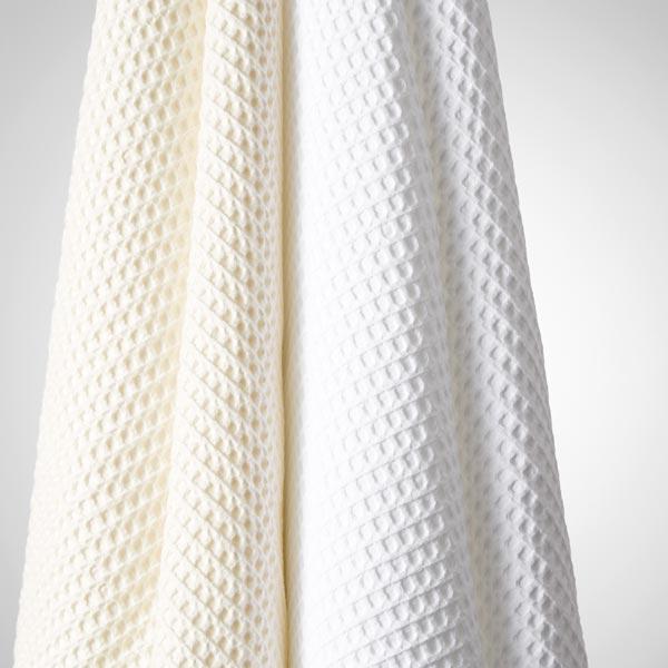 Piqué gaufré 1,1 cm – blanc