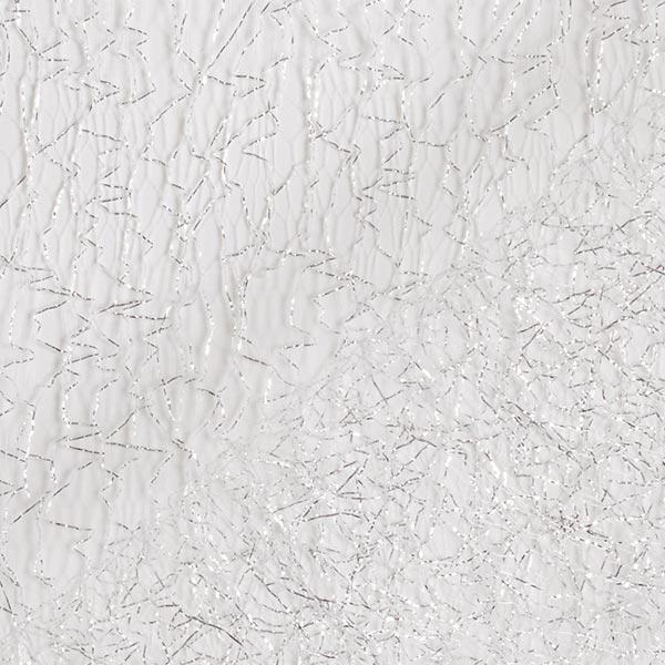 Tulle métallisé Toile d'araignée – argent