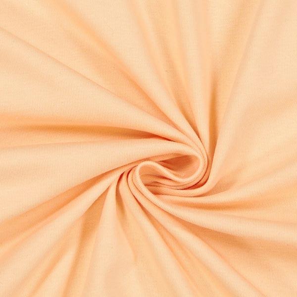 Jersey coton Léger Uni – abricot