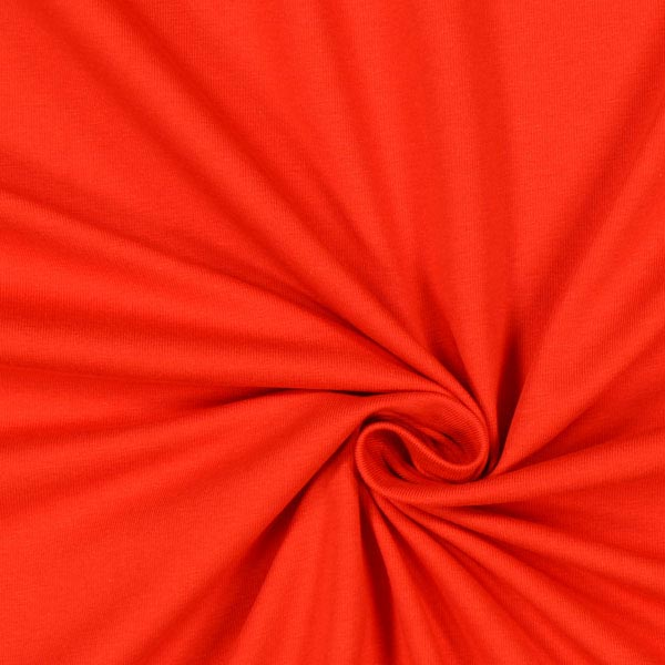 Jersey coton Léger Uni – rouge vif