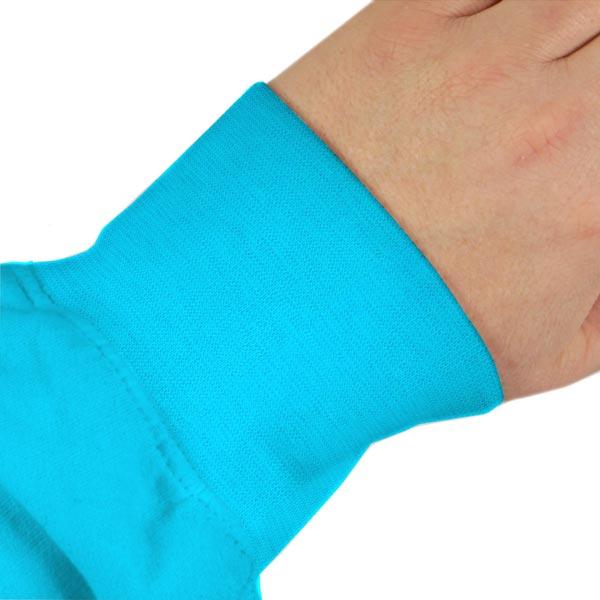 Bord-côté lisse bio – turquoise