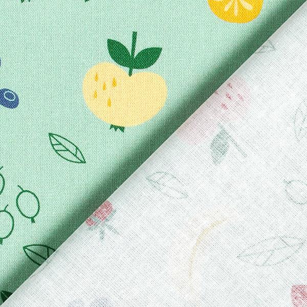 Baumwollpopeline Obstsalat | PETIT CITRON – pastellgrün