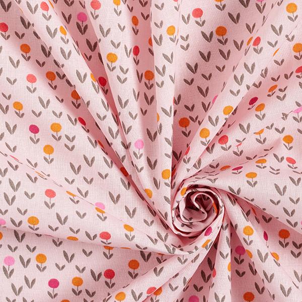 Maske Kit couture Coton Popeline pré fleuri [1-3 Pièces] – rosé