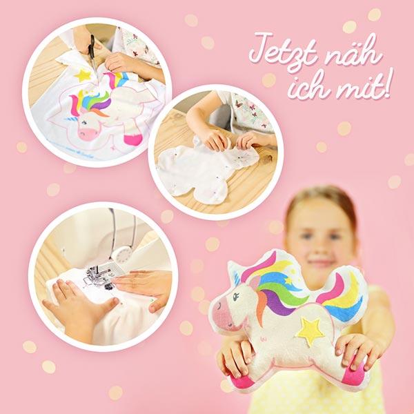 Kinderleicht Näh-Set Einhorn LADY LU | KULLALOO