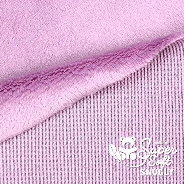 Peluche SNUGLY [1 m x 0,75 m | Poil: 5 mm] 4 - rose clair | Kullaloo