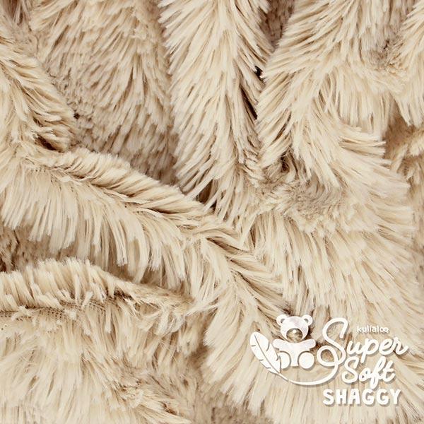 Zottelplüsch Shaggy [1 M X 0,75 M | Flor: 20 MM] - hellbeige  | Kullaloo