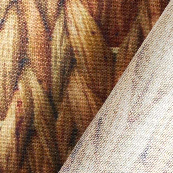 Tissu d'extérieur Jacinthe d'eau – ocre