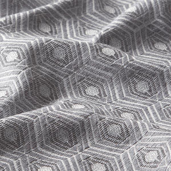 Tissu de décoration Jacquard Aurora – gris clair