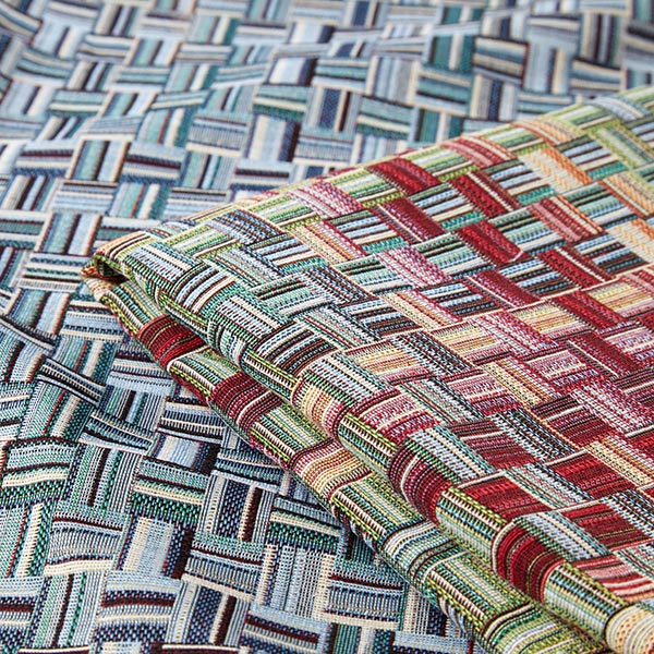 Tissu de décoration gobelin Balaton – rouge