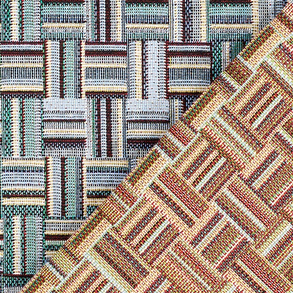 Tissu de décoration gobelin Balaton – bleu