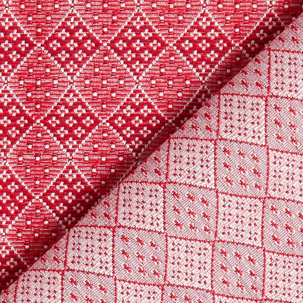 Tissu de décoration Jacquard Dondo – rouge