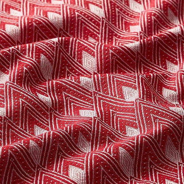 Tissu de décoration Jacquard Luli – rouge