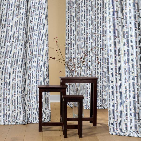 Tissu de décoration Voiliers – beige