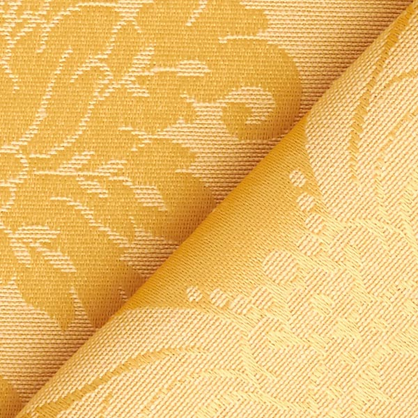 Tissu de décoration Jacquard reina – jaune soleil