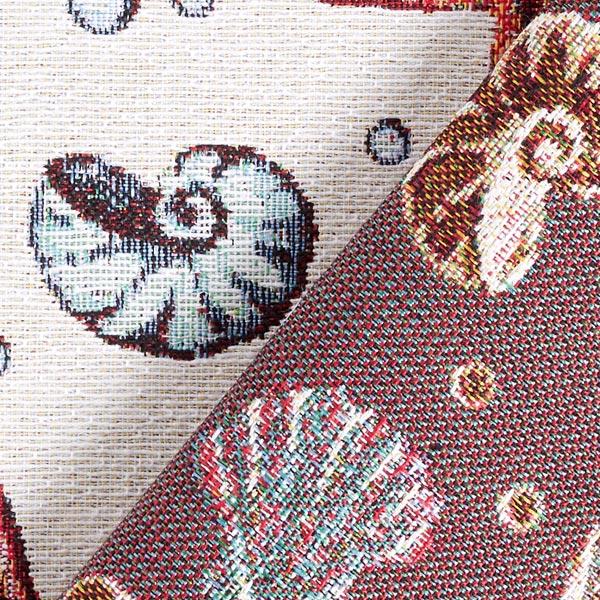 Tissu de décoration Jacquard Coquillages – nature