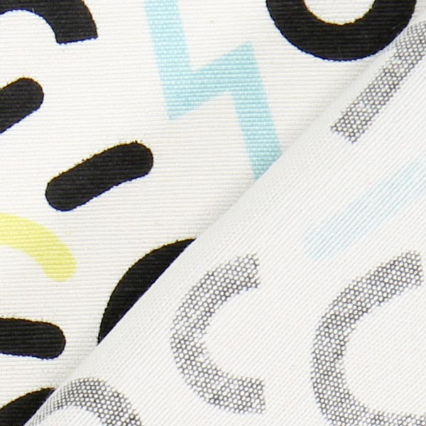 Canvas Pastel Potpourri – noir/blanc