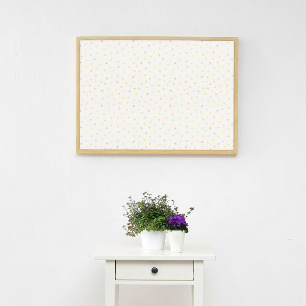Canvas Pastel Confettis