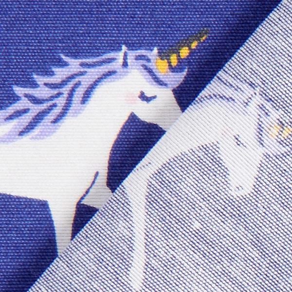 Tissu de décoration Ottoman Poussière d'étoiles Licorne – lilas bleu