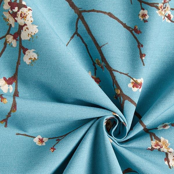 Tissu de décoration ottomane  Printemps – bleu