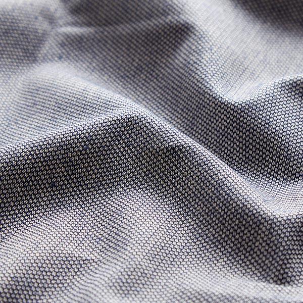 Tissu d'ameublement Jacquard les points Mini – bleu