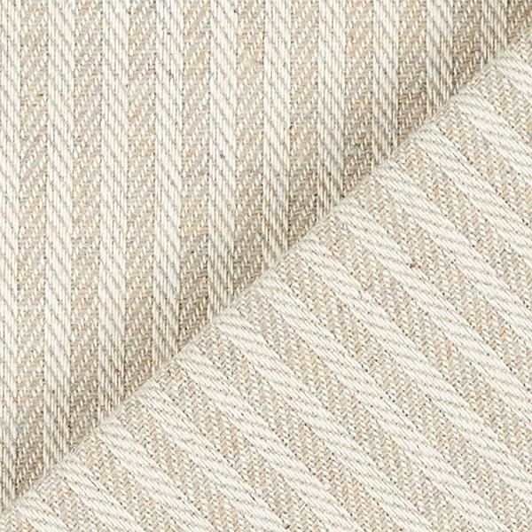 Tissu d'ameublement Jacquard Bande – beige