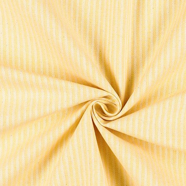 Tissu d'ameublement Jacquard Bande – jaune