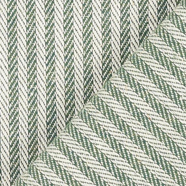 Tissu d'ameublement Jacquard Bande – vert