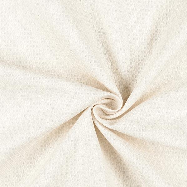 Tissu d'ameublement Jacquard Minirute – crème