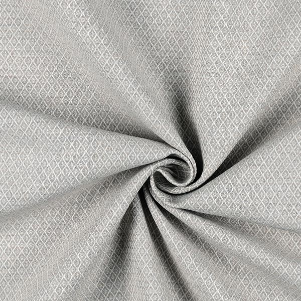 Tissu d'ameublement Jacquard Minirute – gris clair