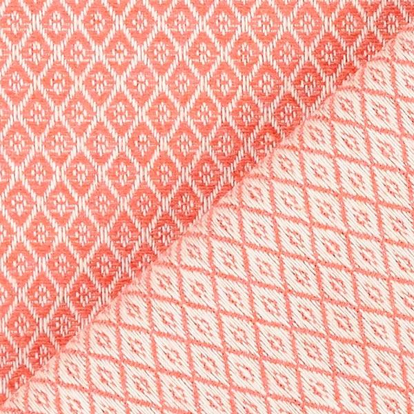 Tissu d'ameublement Jacquard Minirute – rouge