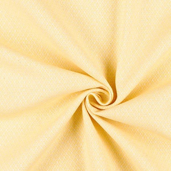 Tissu d'ameublement Jacquard Minirute – jaune