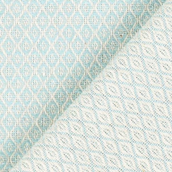 Tissu d'ameublement Jacquard Minirute – bleu aqua