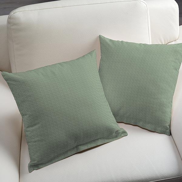 Tissu d'ameublement Jacquard Diagonale – vert