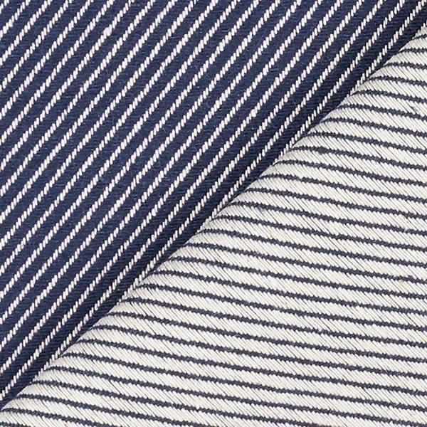 Tissu d'ameublement Jacquard Diagonale – bleu
