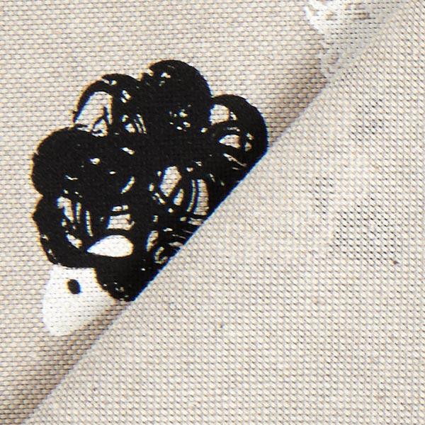 Tissu de décoration Semi-panama Troupeau de mouton – beige