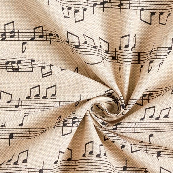 Semi-panama Aspect lin Notes & musique – nature