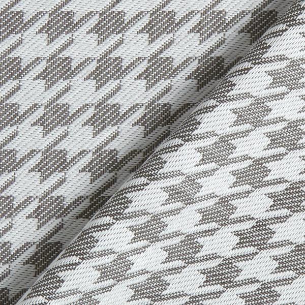 Tissu d'extérieur Pied-de-poule – gris