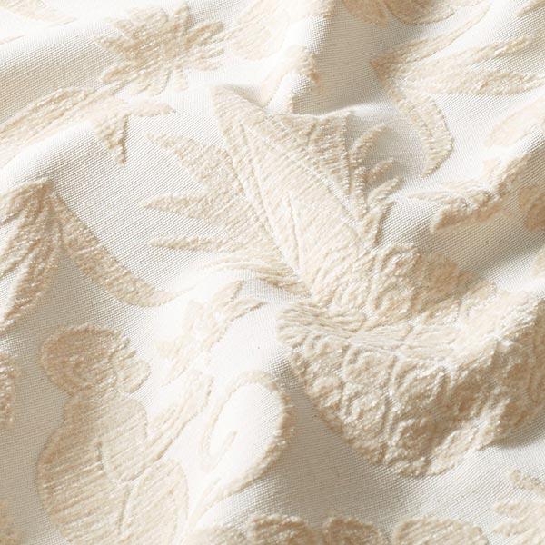 Chenille Jacquard Jungle baroque – crème