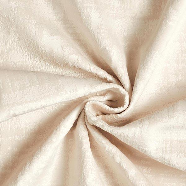 Tissu de décoration Velours Aspect marbré – beige