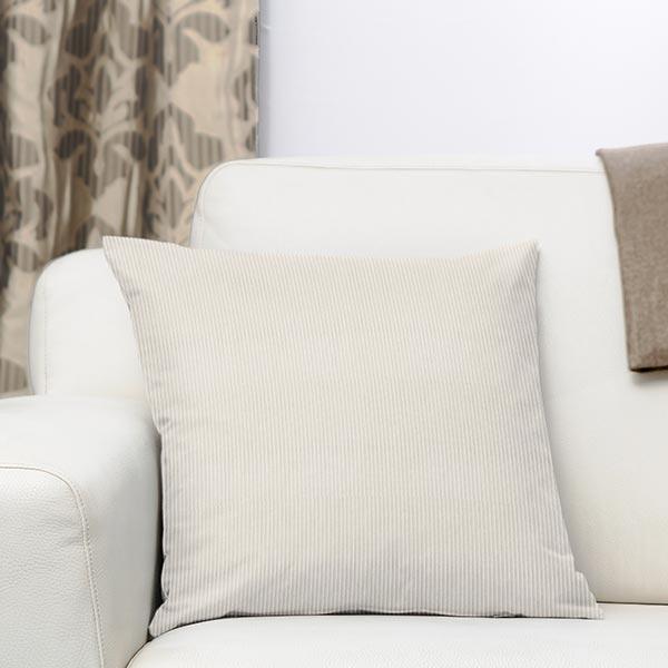 Tissu de décoration Velours Aspect velours côtelé – beige