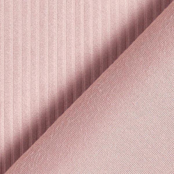 Dekostoff Samt Cordoptik – rosa