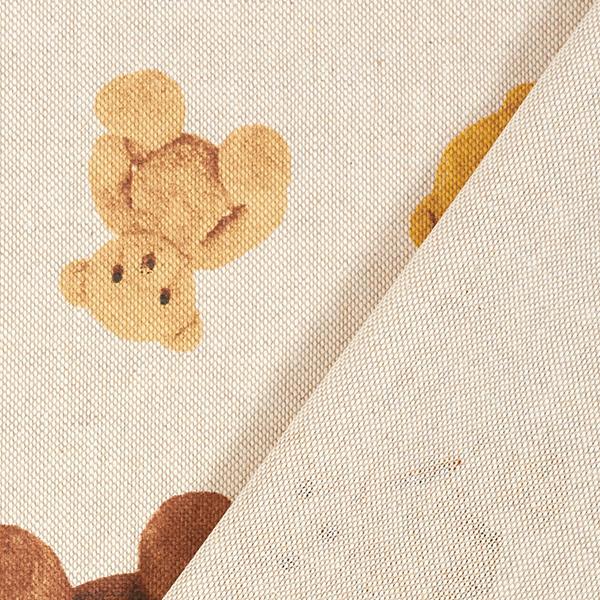 Tissu de décoration Semi-panama Peluche – nature
