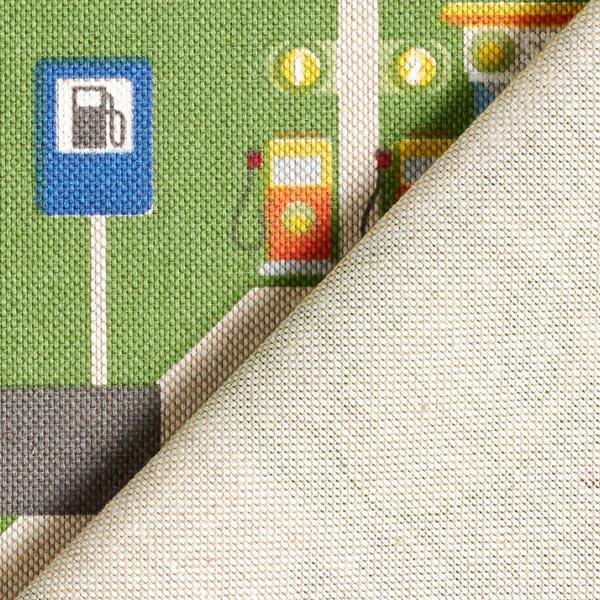 Tissu de décoration Semi-panama Paysage routier