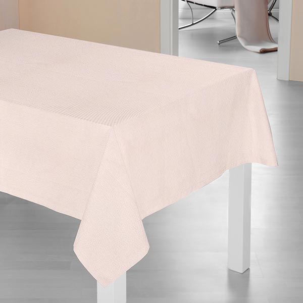 Tissu de décoration Semi-panama Lurex – rose