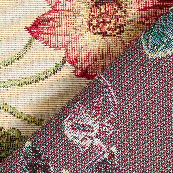 Tissu de décoration Gobelin Fleurs – nature
