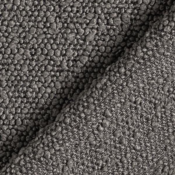 Tissu d'ameublement peluche – gris foncé