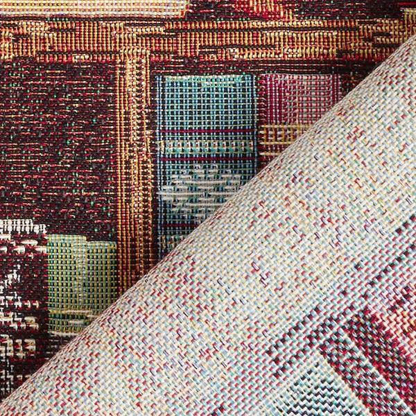 Tissu de décoration Gobelin Bibliothèque – marron