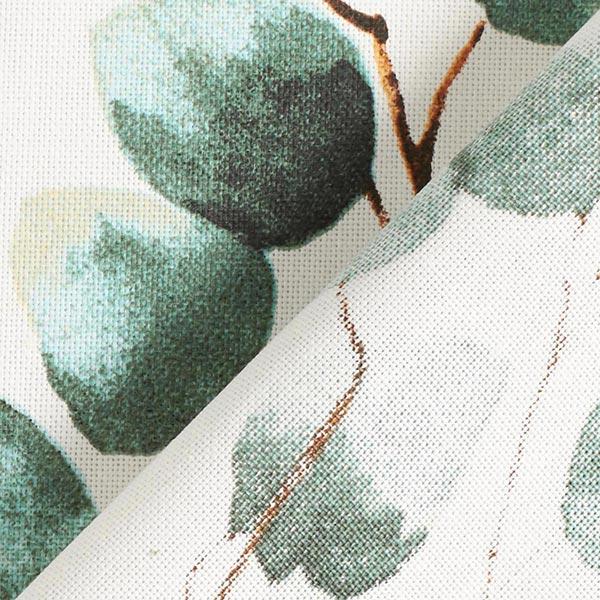 Dekostoff Halbpanama Eukalyptus – wollweiss