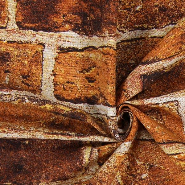 Tissu de décoration Mur de pierres