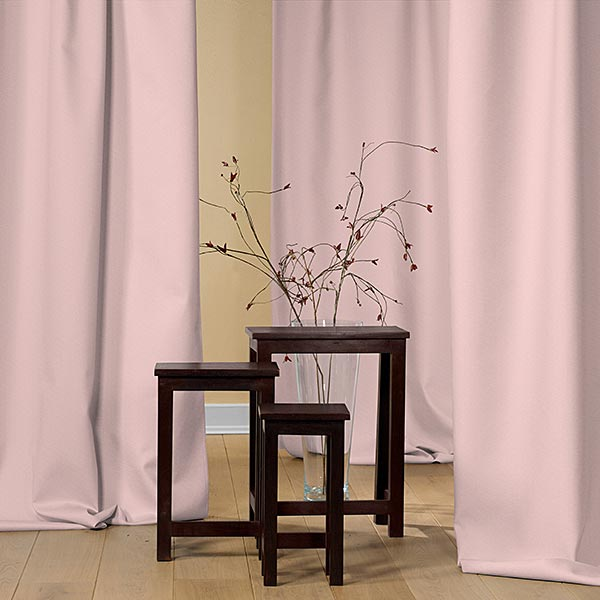 Tissu opaque – rosé